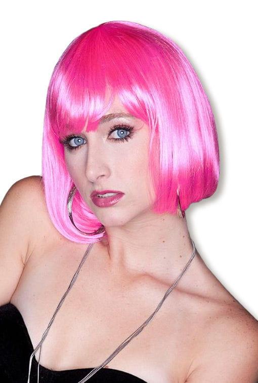 Cindy Perücke Pink -Manga Perücke-Party Perücke-Trendhaar