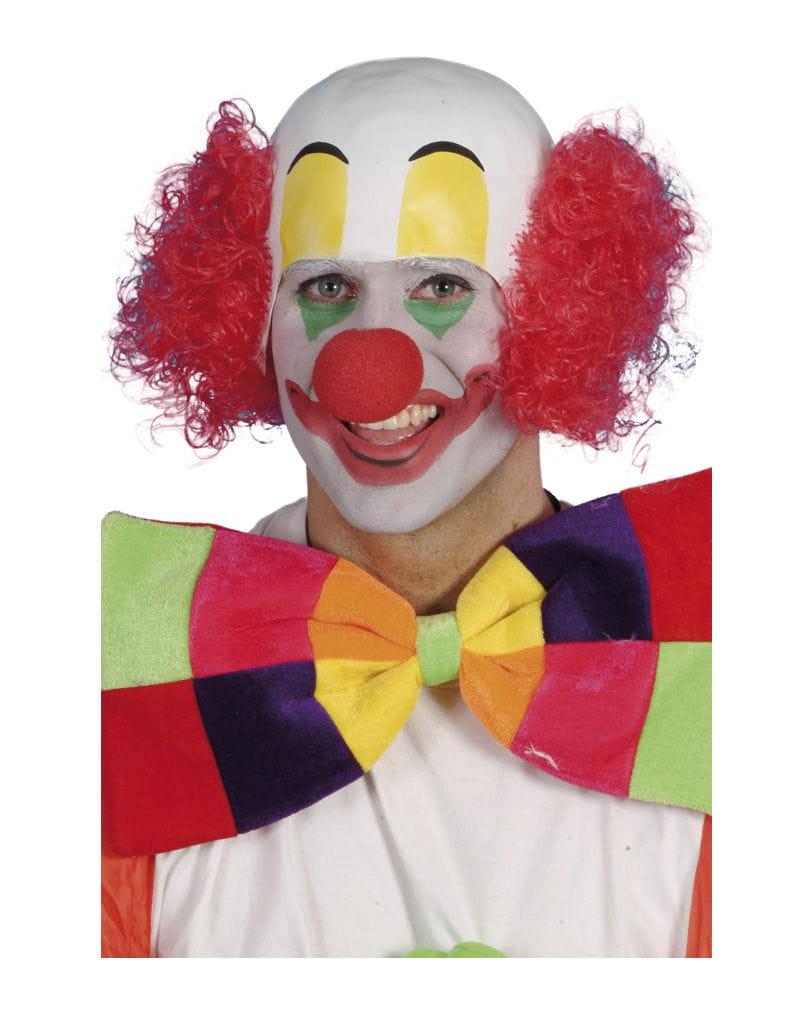 Clowns Perücke rot für dein lustiges Faschingskostüm