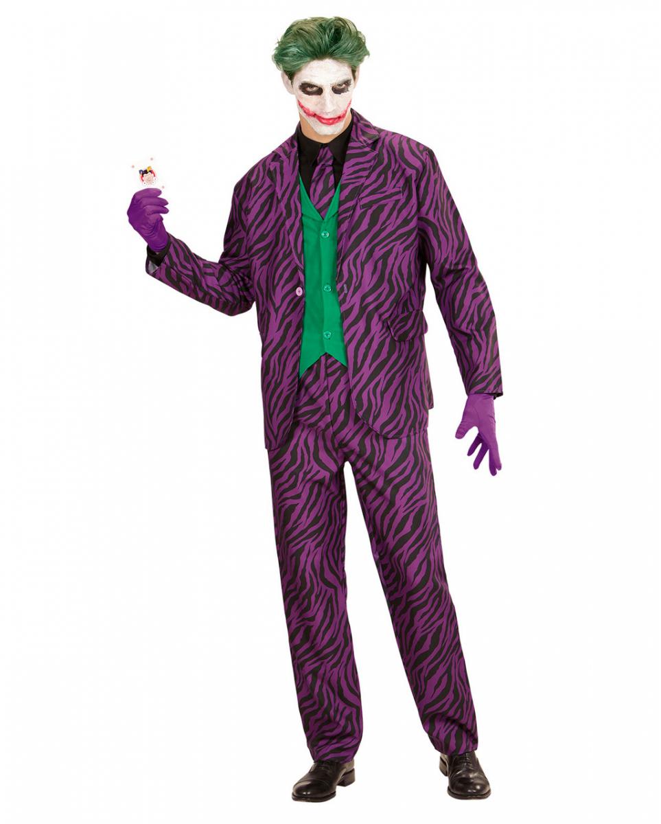Evil Joker Herrenkostüm Comic Kostüme bestellen L