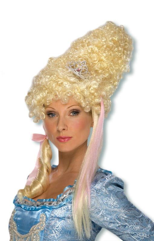 Lady Maiden Perücke blonde Rokoko Damenperücke