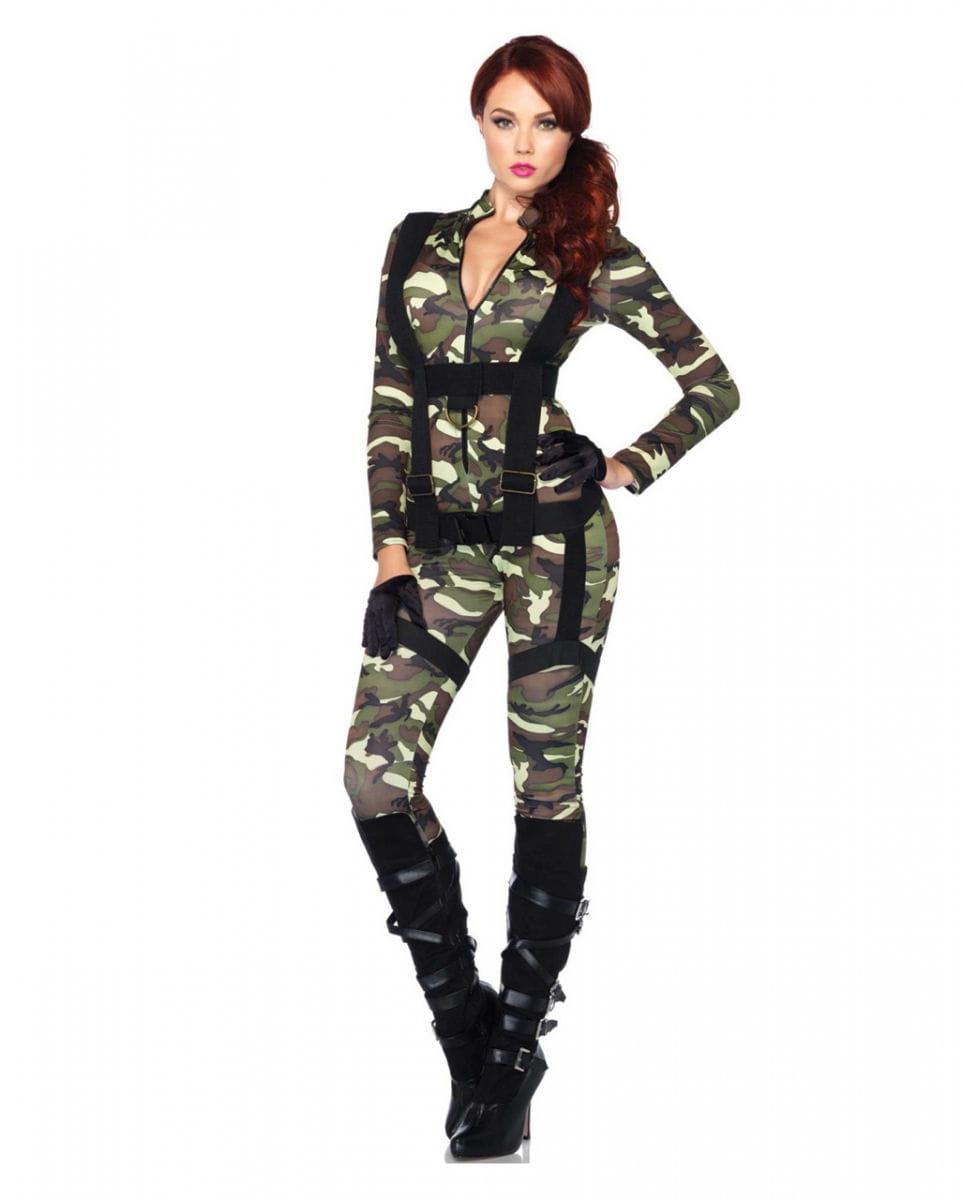 Fallschirmjäger Kostüm für Damen ✩ kaufen L
