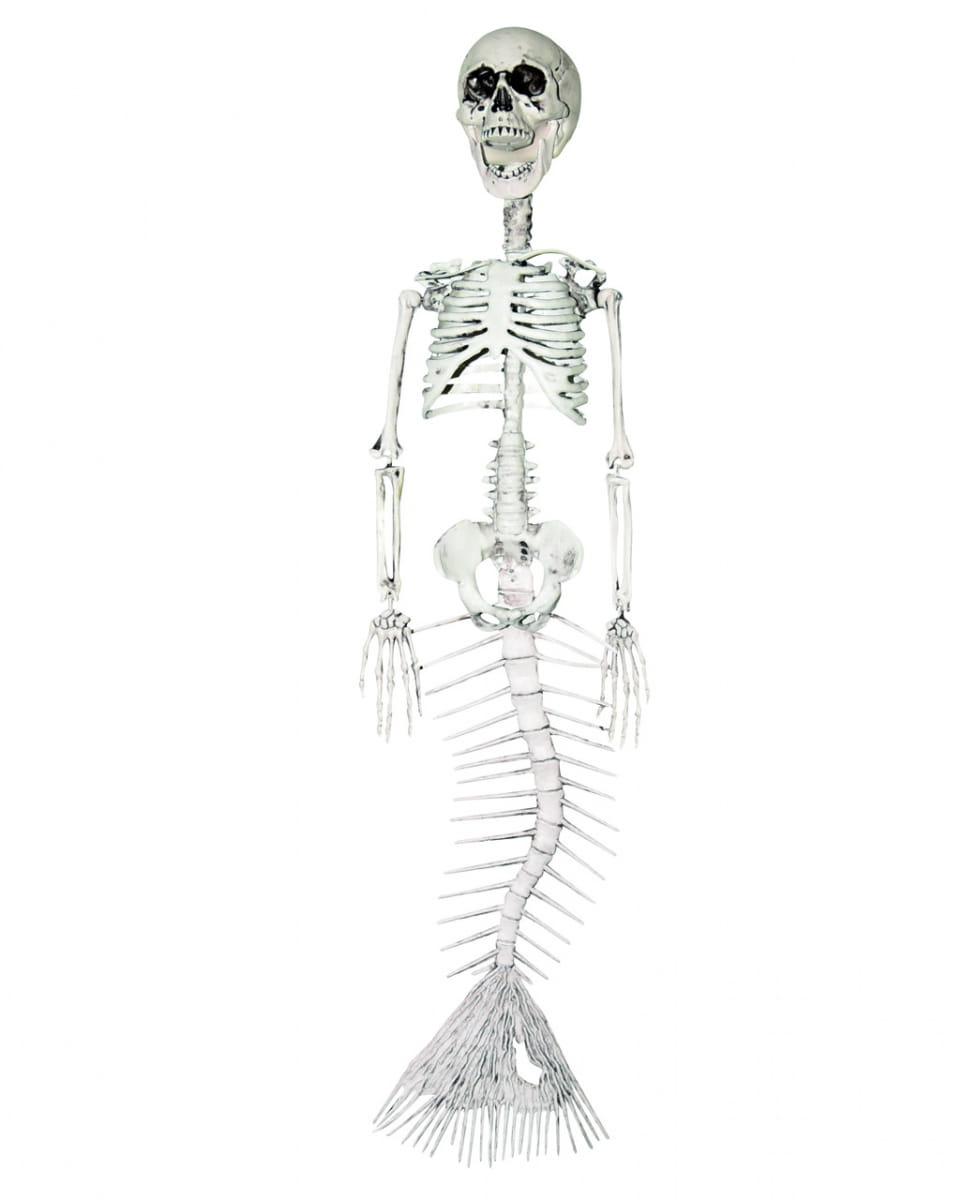 Meerjungfrau Gerippe 76 cm als Halloween Deko