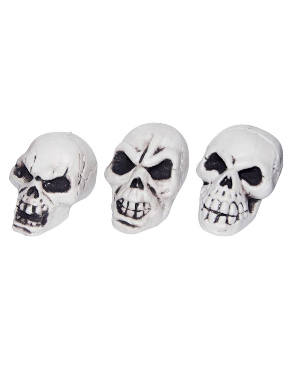 Mini-Totenkopf als Halloween Deko 5 cm bestellen!