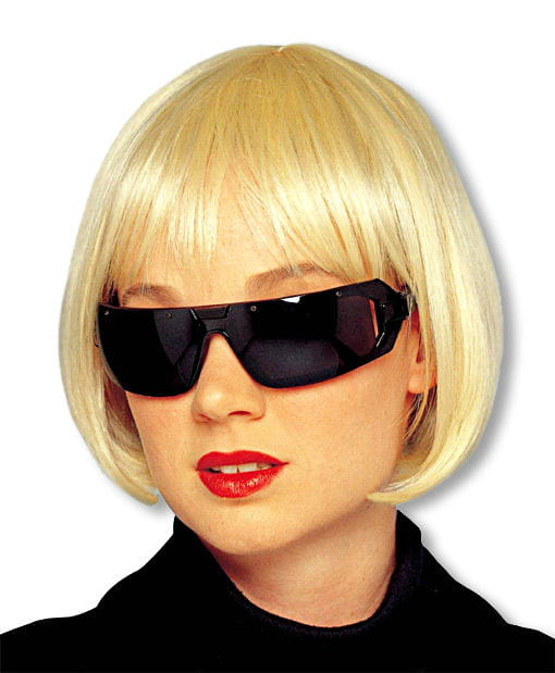 Pagenkopf Perücke-Bob Blond -Blonde Perücken-Bob Blond-Blondes