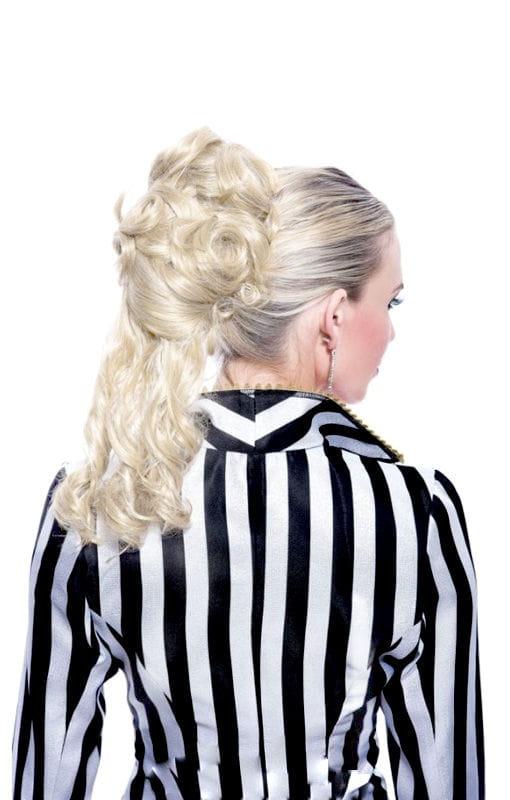 Pferdeschwanz Haarteil blond für Perücken