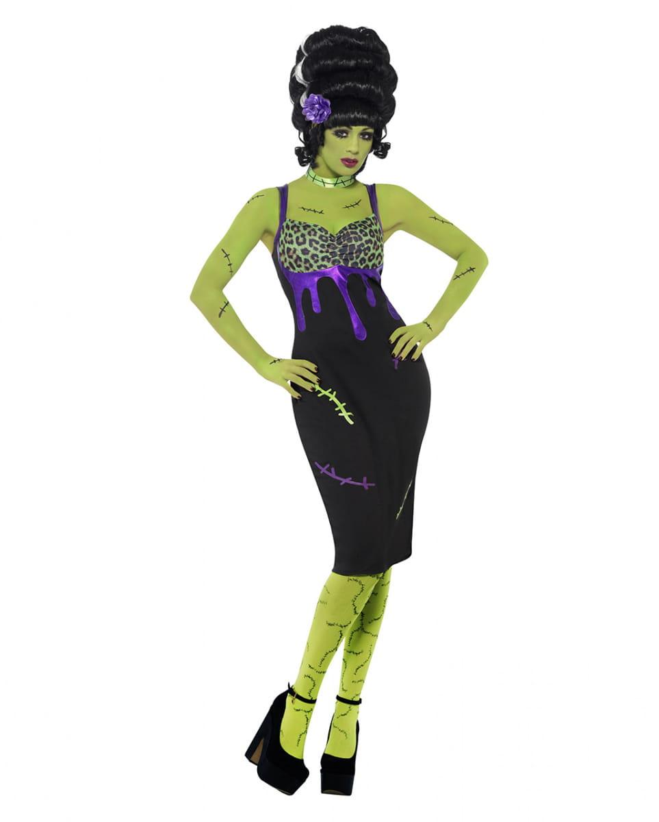 Frankie Stein Damen Kostüm Das Frankie Damen Kostüm ist perfekt für die Gruselparty S