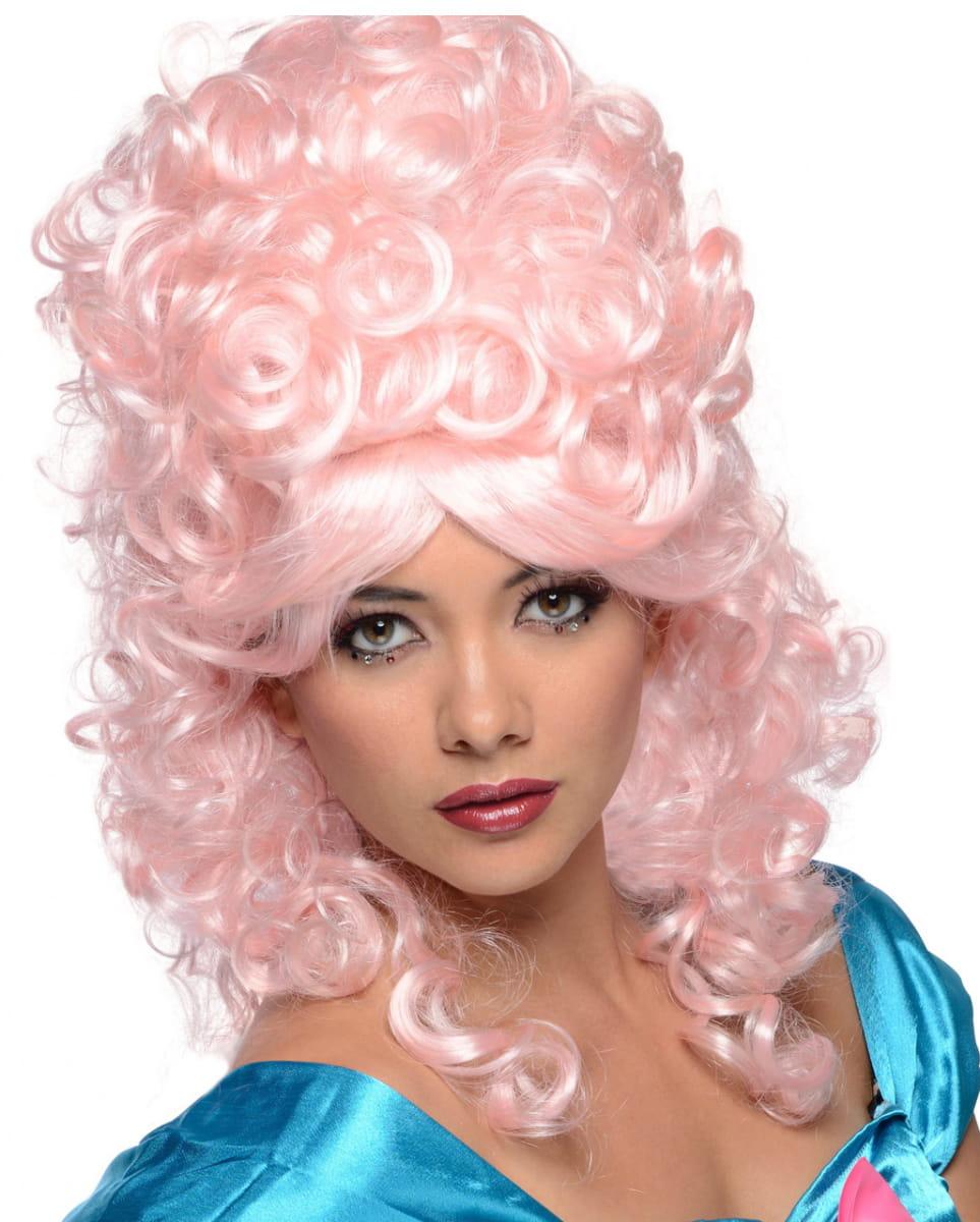Perücke Pink Burlesque Faschingsperücken kaufen