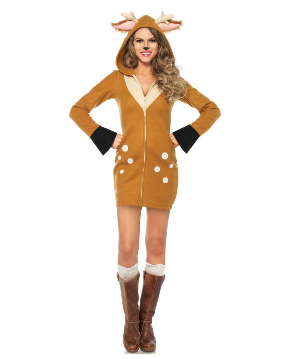 Bambi Reh Kostüm für Damen für Fasching L