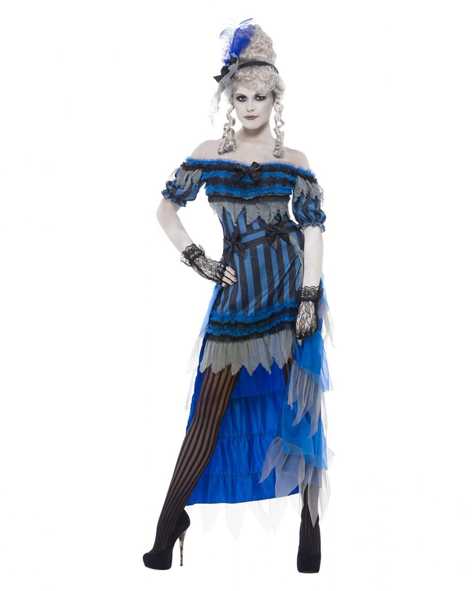 Saloon Lady Gespenst Kostüm Dreiteiliges Damen Kostüm für Halloween L / 40