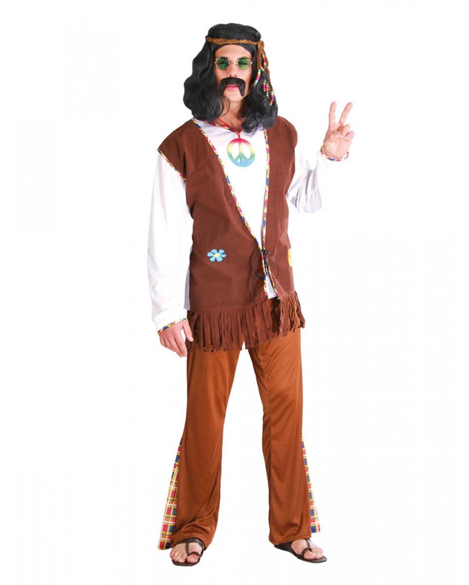 Kostüm California Hippie für Fasching L