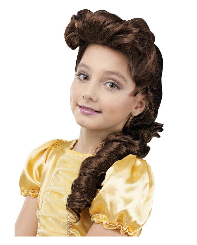 Prom Queen Kinderperücke Braun Perücken für Mädchen