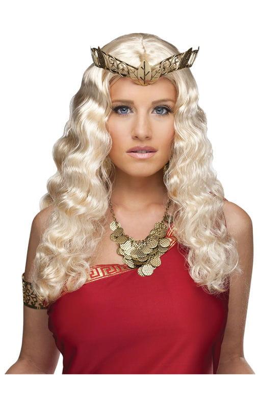 Venus Perücke blond Göttinnen Look Kunsthaar Perücke