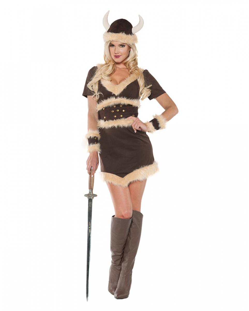 Thora Wikinger Kostüm für Damen M
