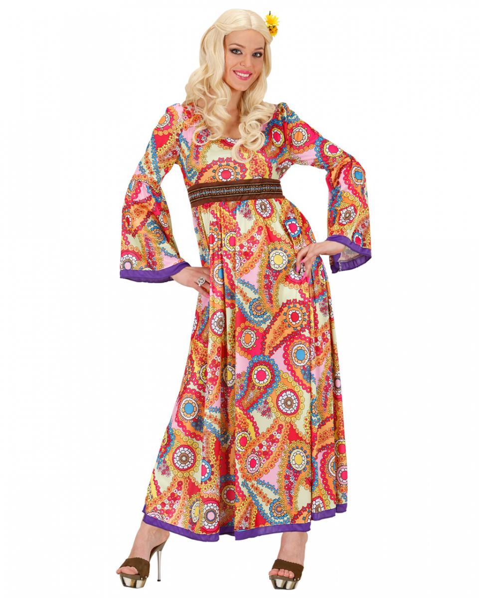 Woodstock Hippie Damen Kostüm ➤ kaufen M