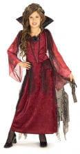 Gothic Vampire Lady Child Costume Medium