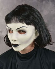 Gothic Lady Mask with Wig