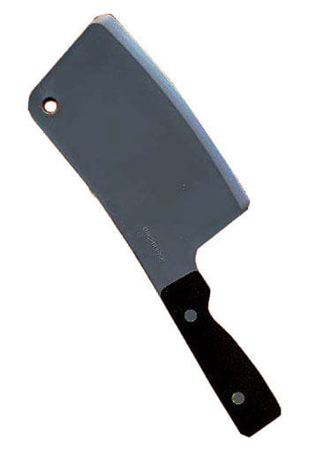 Butcher & Butcher hatchet as costume accessories