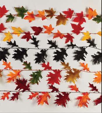 Herbstblätter Girlande