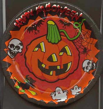 Paper Plates Halloween