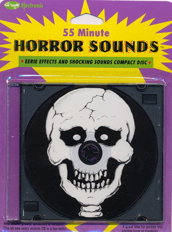 Mixed Horror Sounds CD