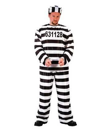 Convict Costume Jailbird
