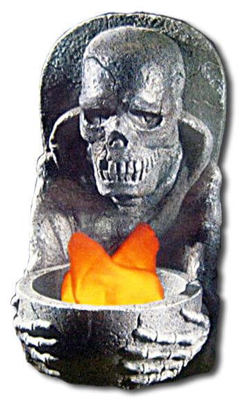 Phantom Totenschädel Flammenschale