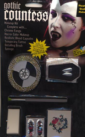 Vampir Countess Make Up Kit