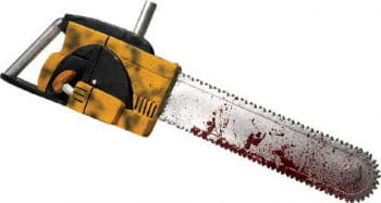 Leatherface Kettensäge