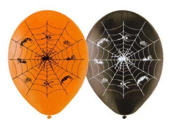 Spinnennetz Luftballons