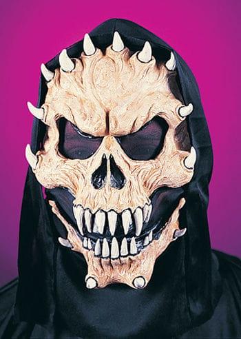 Evil Demon Maske beige