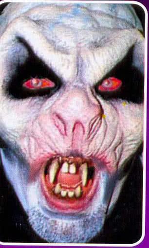 Upper and lower jaw Nosferatu