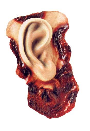 Blutiges Latex Ohr Economy