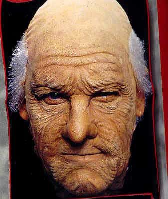 Alter Opa Gesichts Latex Maske