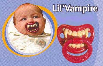 Babyschnuller Lil Vampire