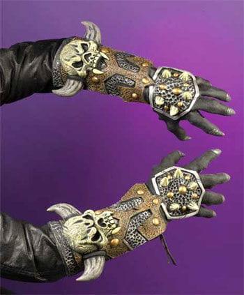 Armour Gloves Skull