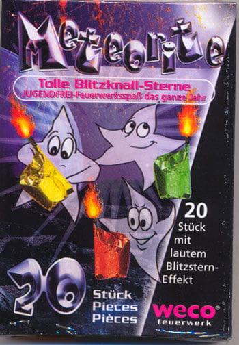 Meteorite Blitzknall Feuerwerk