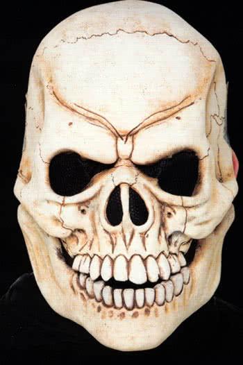 Skull Face Latex Appliance