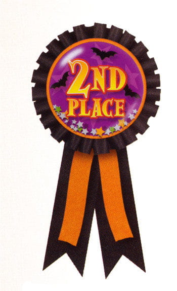 Halloween Badge 2nd Prize