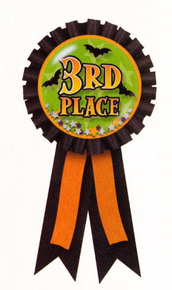 Halloween Badge 3rd Prize