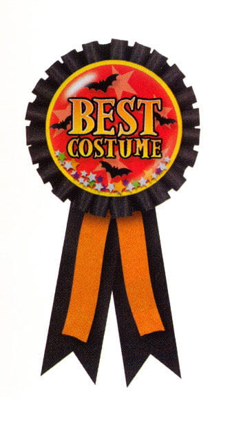Best Costume Badge