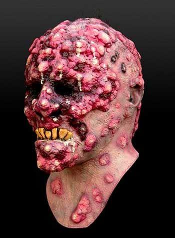 Pest Opfer Bob Veruga Maske