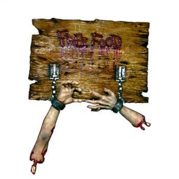 Zombie Restaurant Schild