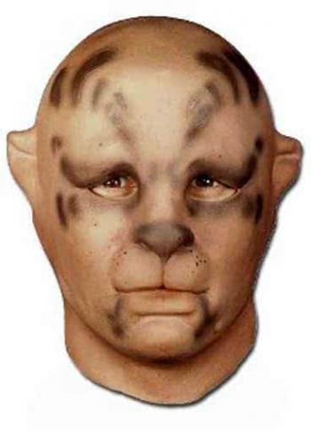 Katze Braun Foamlatex Maske