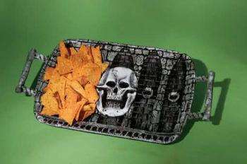 Halloween Skull Tray