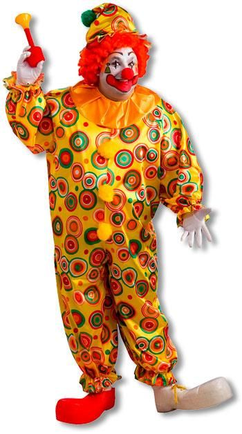 Jack the Jolly Clown Costume