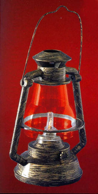 Petroleumlampe / Grubenlaterne