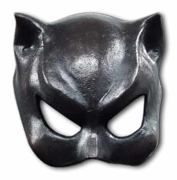 Catwoman Latex half mask