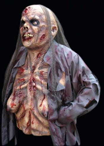 Zombie Supermodel Mask