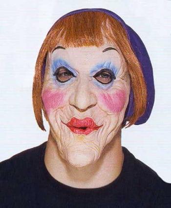 Alte Oma Maske Merkel