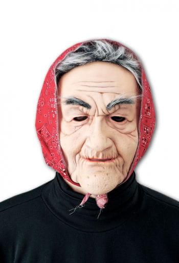 Alte Oma Maske Trude